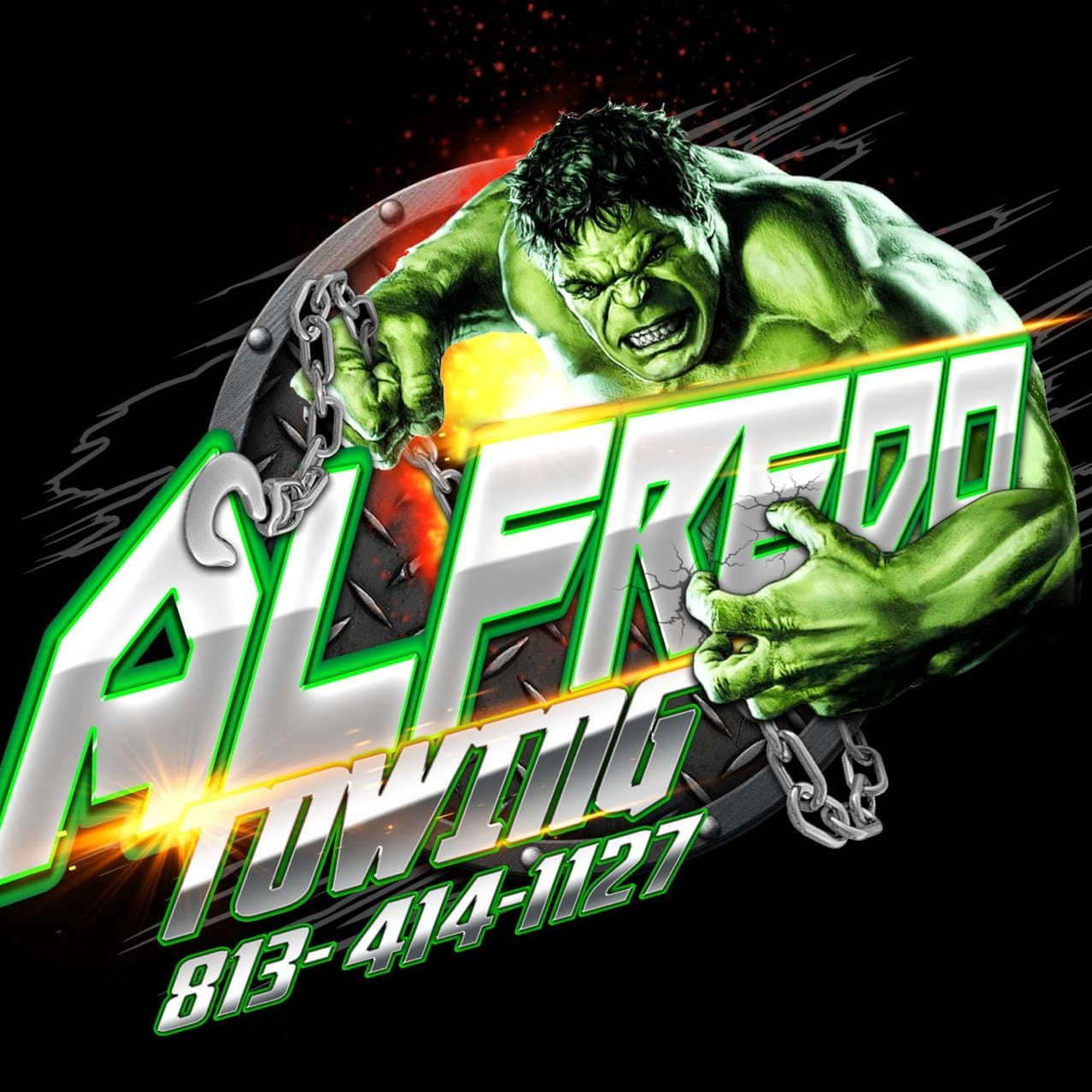 Alfredo Towing logo