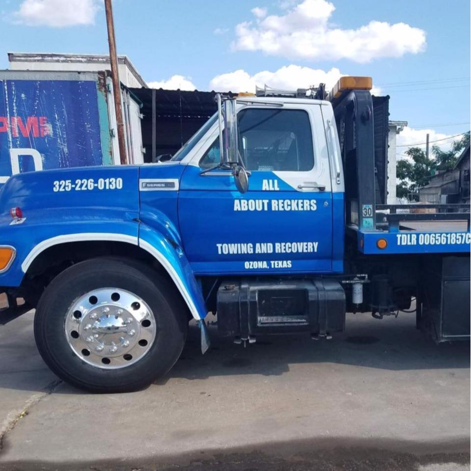 All About Rekers Tow/Recovery logo