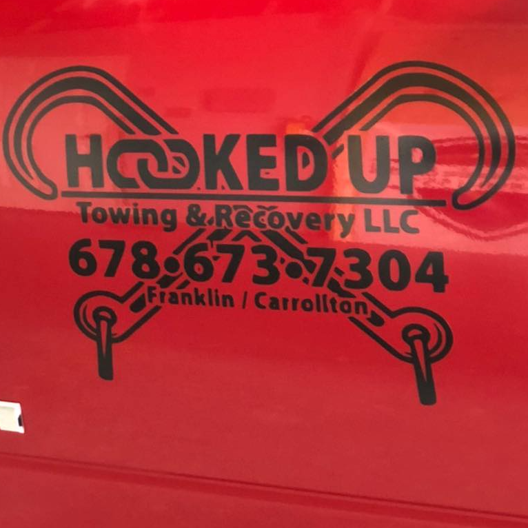 Hooked Up Towing and Recovery logo