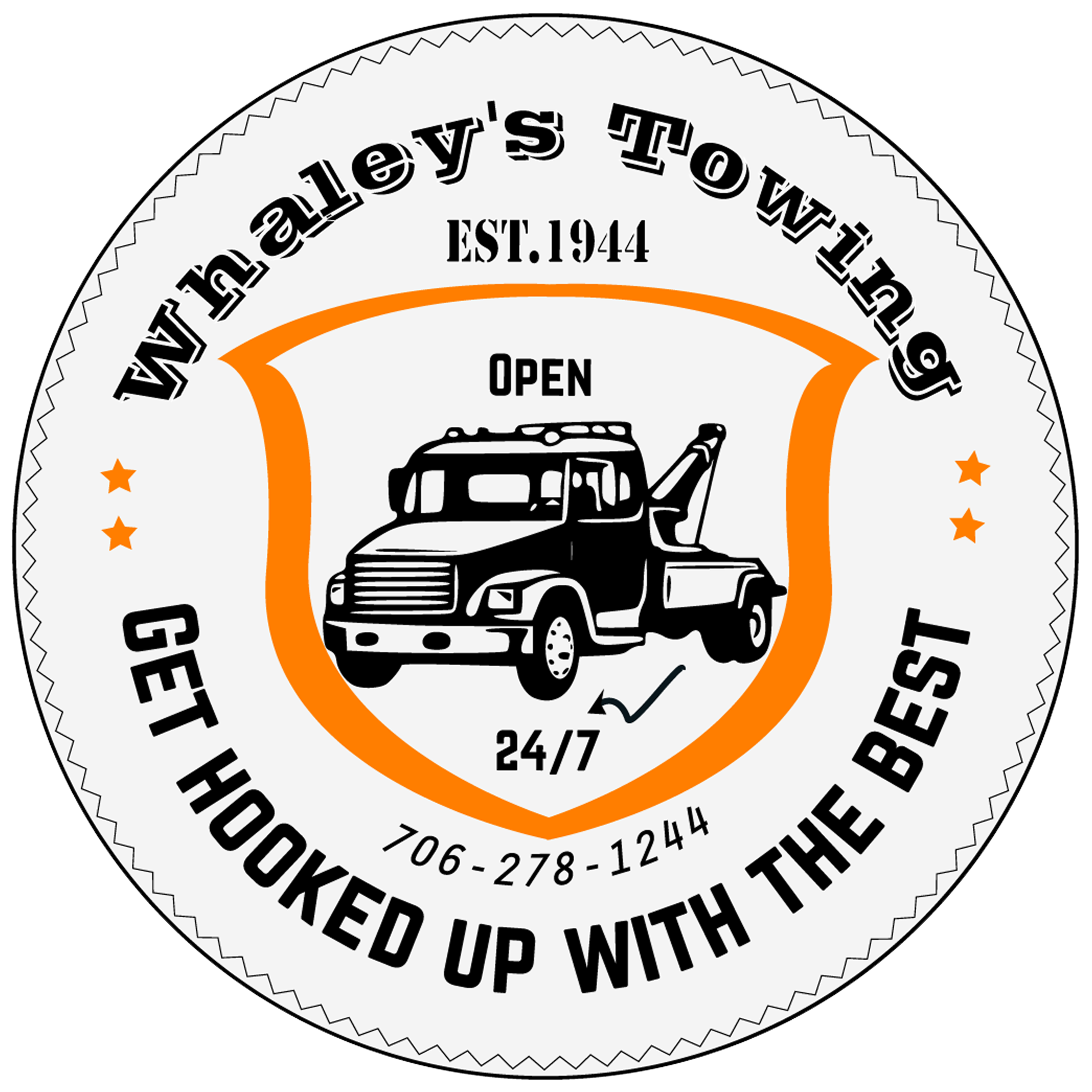 Whaley's Towing logo