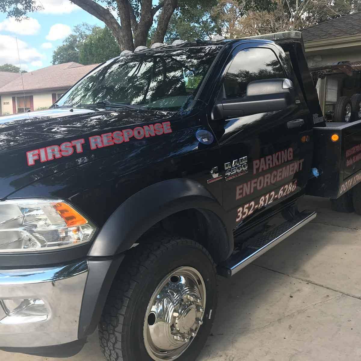 First Response Towing logo