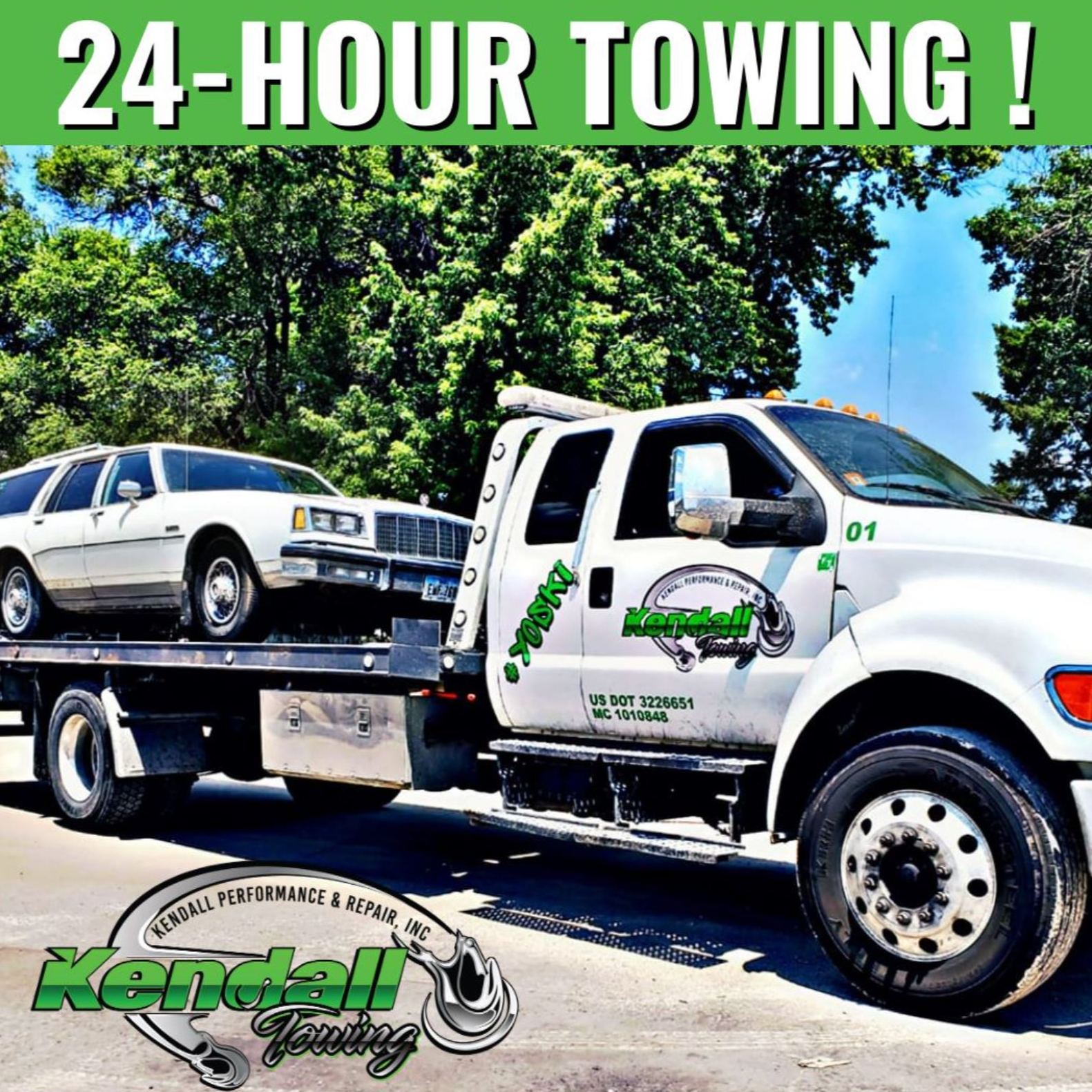 Kendall Towing logo