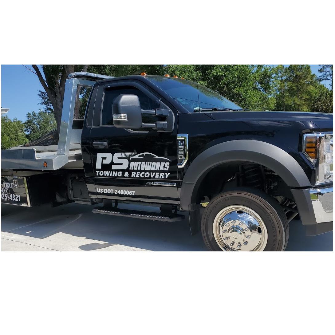 PS Autoworks logo