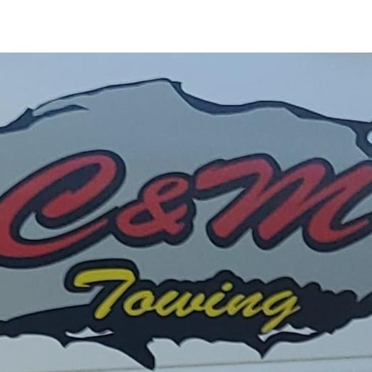 C&M Towing 24 Hour Service logo