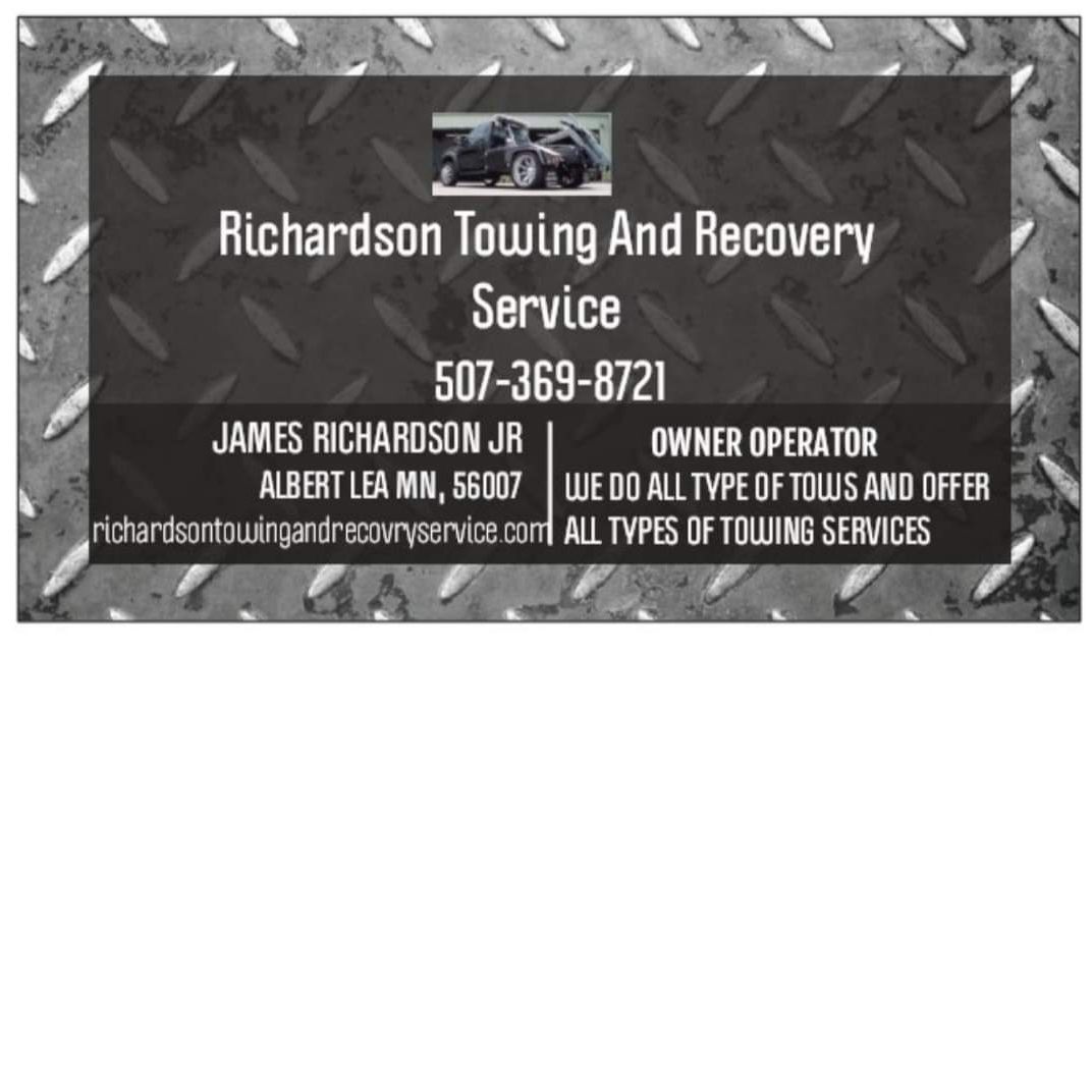 James Richardson Towing And Recovery Service logo