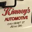 Kinney's Automotive Service logo