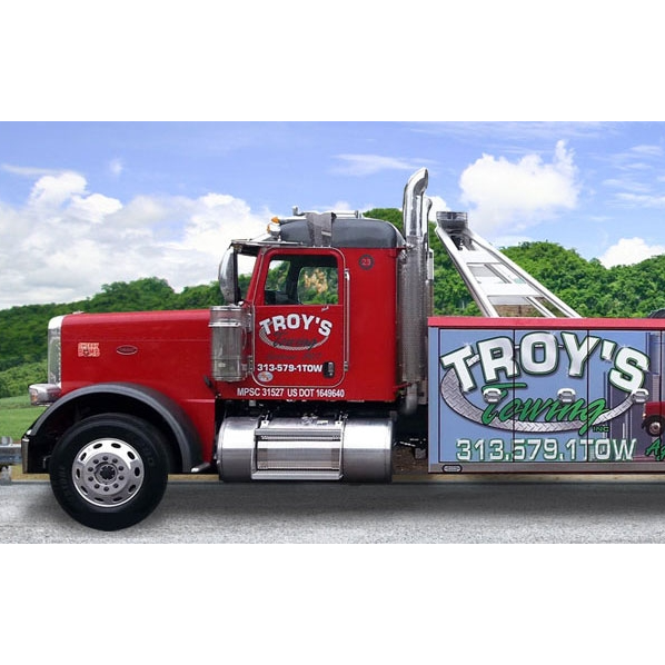 Troy's Towing Inc. logo