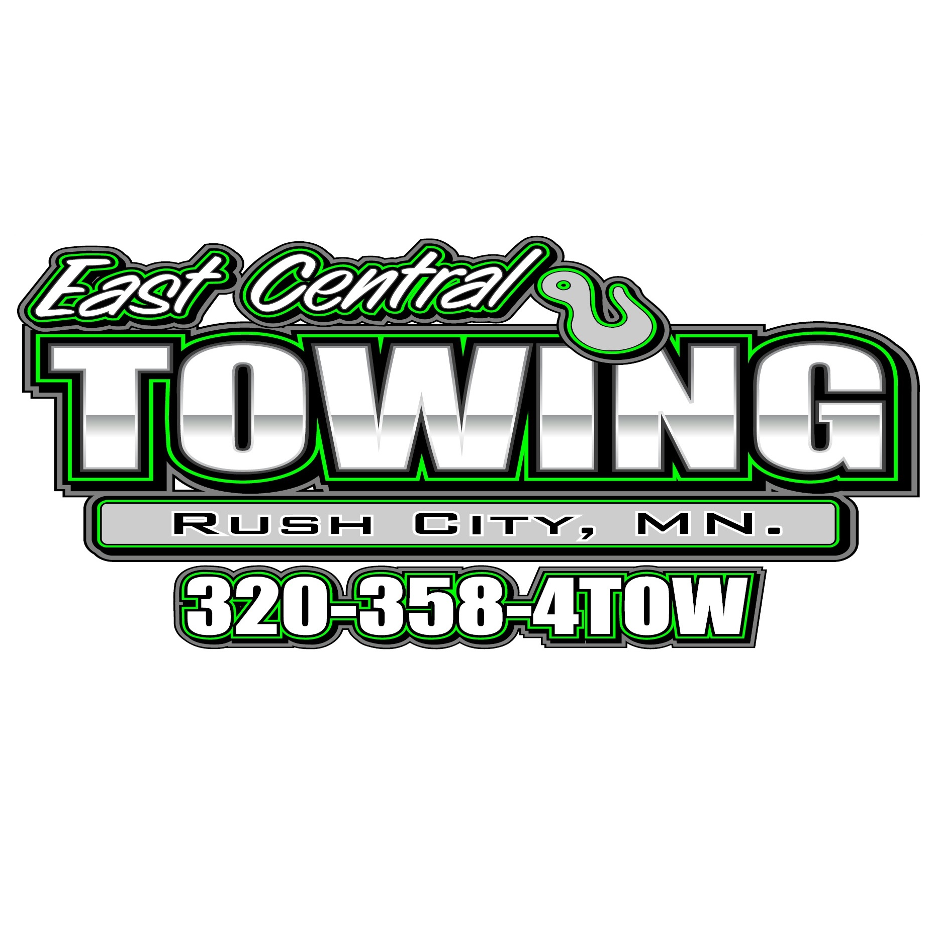East Central Towing logo