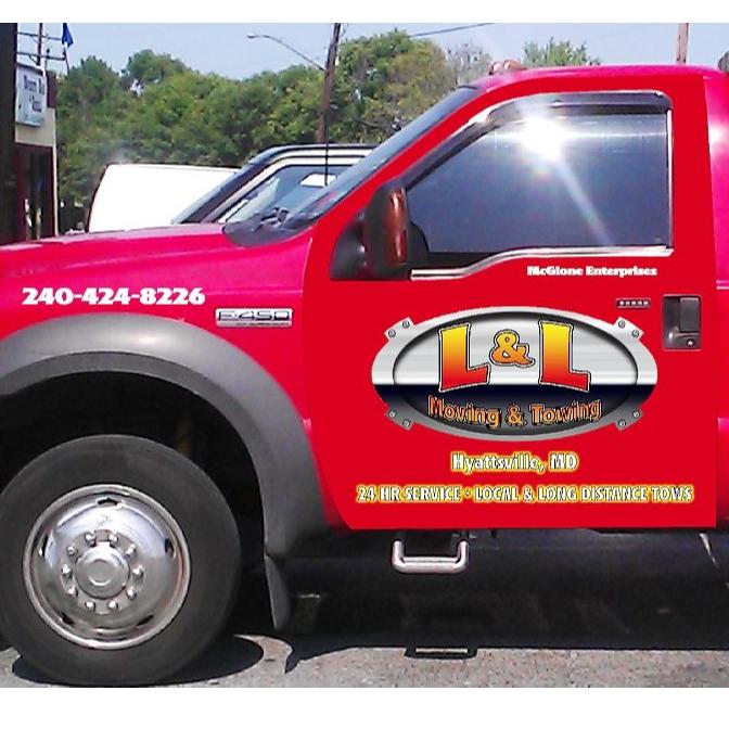 LL Towing logo