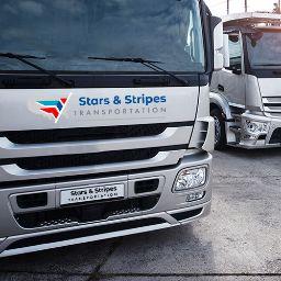 Stars & Stripes Transportation logo